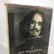 Libros de segunda mano: JUAN DE LA ENCINA SOMBRA Y ENIGMA DE VELAZQUEZ ESPASA CALPE ARGENTINA 1952 BUENOS AIRES. Lote 148237870