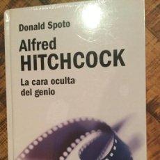 Libros de segunda mano: ALFRED HITCHCOCK LIBRO - LA CARA OCULTA DEL GENIO -DONALD SPOTO. Lote 148847374