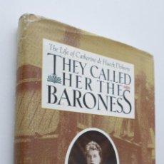 Livros em segunda mão: THEY CALLED HER THE BARONESS - HANLEY. Lote 149347492