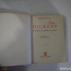 Libros de segunda mano: DICKENS. SU CARÁCTER, SUS COMEDIAS Y SU CARRERA - HESKETH PEARSON - GRIJALBO - 1957. Lote 150125398