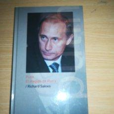 Libros de segunda mano: PUTIN EL ELEGIDO DE RUSIA - RICHARD SAKWA. Lote 151029004