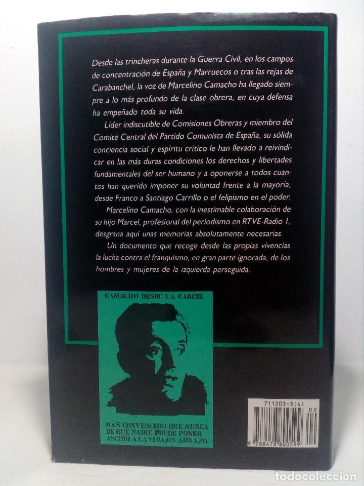Libros de segunda mano: CONFIESO QUE HE LUCHADO (MEMORIAS DE MARCELINO CAMACHO) AÑO 1990 (COMO NUEVO) - Foto 2 - 151037722