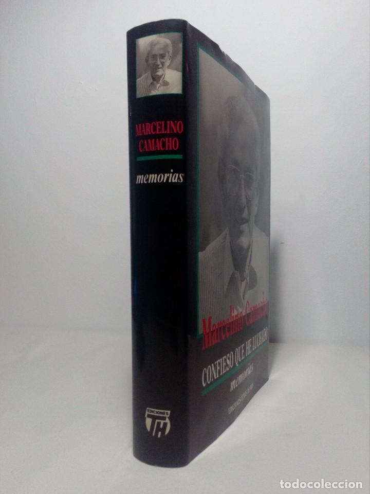Libros de segunda mano: CONFIESO QUE HE LUCHADO (MEMORIAS DE MARCELINO CAMACHO) AÑO 1990 (COMO NUEVO) - Foto 3 - 151037722