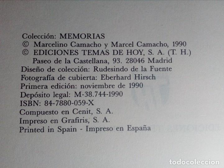 Libros de segunda mano: CONFIESO QUE HE LUCHADO (MEMORIAS DE MARCELINO CAMACHO) AÑO 1990 (COMO NUEVO) - Foto 6 - 151037722