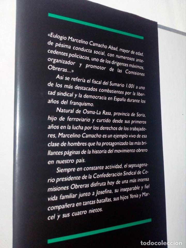 Libros de segunda mano: CONFIESO QUE HE LUCHADO (MEMORIAS DE MARCELINO CAMACHO) AÑO 1990 (COMO NUEVO) - Foto 7 - 151037722