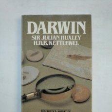 Libros de segunda mano: DARWIN. SIR JULIAN HUXLEY. HDB KETTLEWEL. BIBLIOTECA SALVAT DE GRANDES BIOGRAFIAS Nº 5. TDK366. Lote 151383954