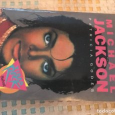 Libros de segunda mano: MICHAEL JACKSON PATRICIA GODES VIDEO ROCK SALVAT 1990 LIBRO LETRAS CANCIONES Y SU TRADUCCION. Lote 151488094