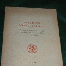 Libros de segunda mano: EL PREBENDADO DON ANTONIO PEREIRA PACHECO, DE MANUELA MARRERO Y EMMA GONZALEZ. LA LAGUNA. 1963. Lote 152274734