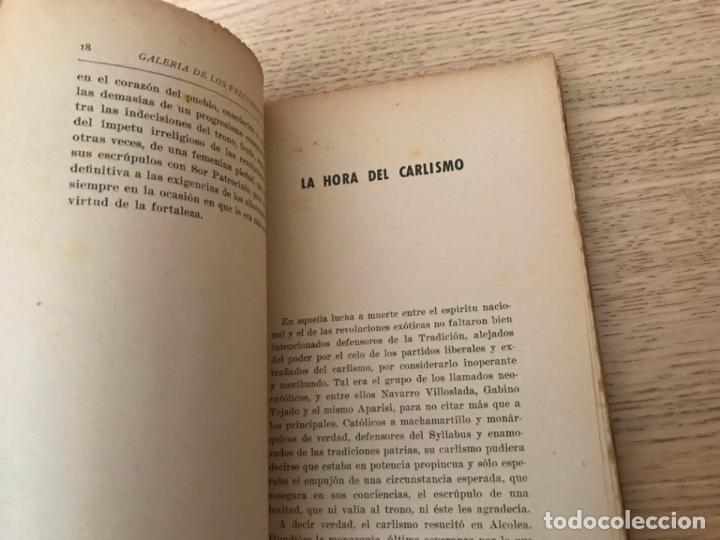 Libros de segunda mano: GALERIA DE LOS PRECURSORES. APARISI Y GUIJARRO. ESTEBAN BILBAO EGUÍA. - Foto 2 - 152292410