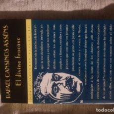 Libros de segunda mano: RAFAEL CANSINOS ASSENS, EL DIVINO FRACASO; ED, VALDEMAR, TAPA BLANDA; 1996; 219 PAGS. Lote 152484418