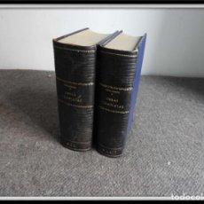 Libros de segunda mano: OBRAS COMPLETAS DE EMIL LUDWIG DOS VOLUMENES BIOGRAFIAS. Lote 153083638