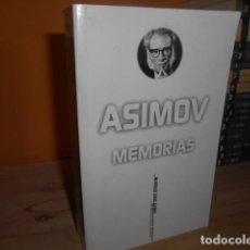 Libros de segunda mano: MEMORIAS / ISAAC ASIMOV. Lote 153454522