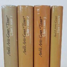 Libros de segunda mano: VIURE I VEURE. VOLUMS 1, 2, 3 I 4 - AVEL·LÍ ARTÍS - GENER (TÍSNER) - PÒRTIC. Lote 154091172