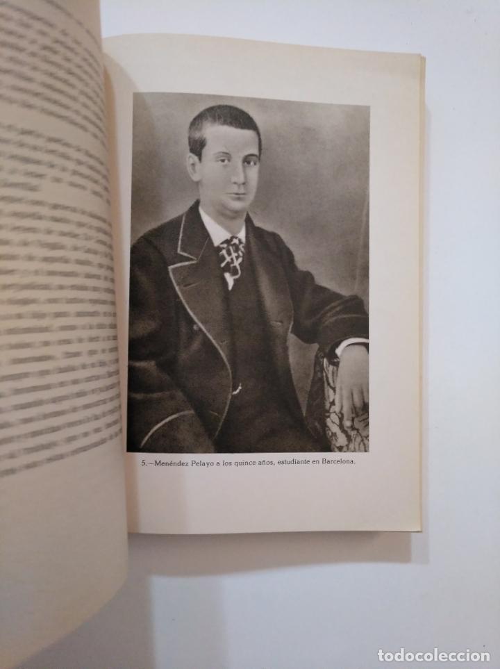 Libros de segunda mano: DON MARCELINO BIOGRAFIA ULTIMO DE NUESTROS HUMANISTAS. Menéndez Pelayo ENRIQUE SANCHEZ REYES TDK373 - Foto 2 - 154657802