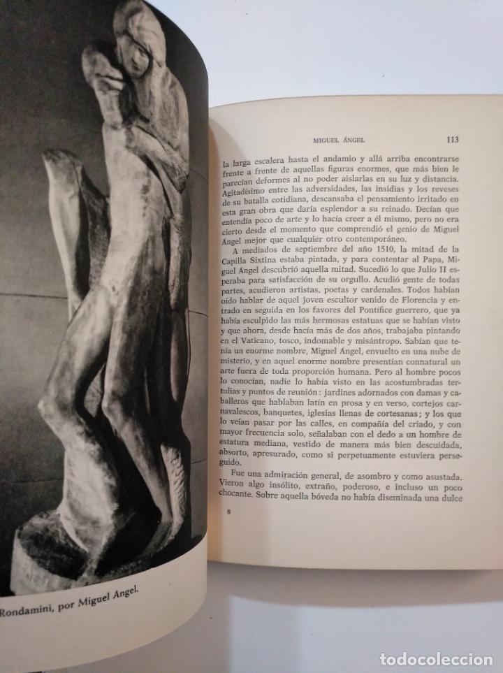 Libros de segunda mano: MIGUEL ÁNGEL. MICHELANGELO. - MICHELE SAPONARO. 1963. TDK374 - Foto 2 - 154668450