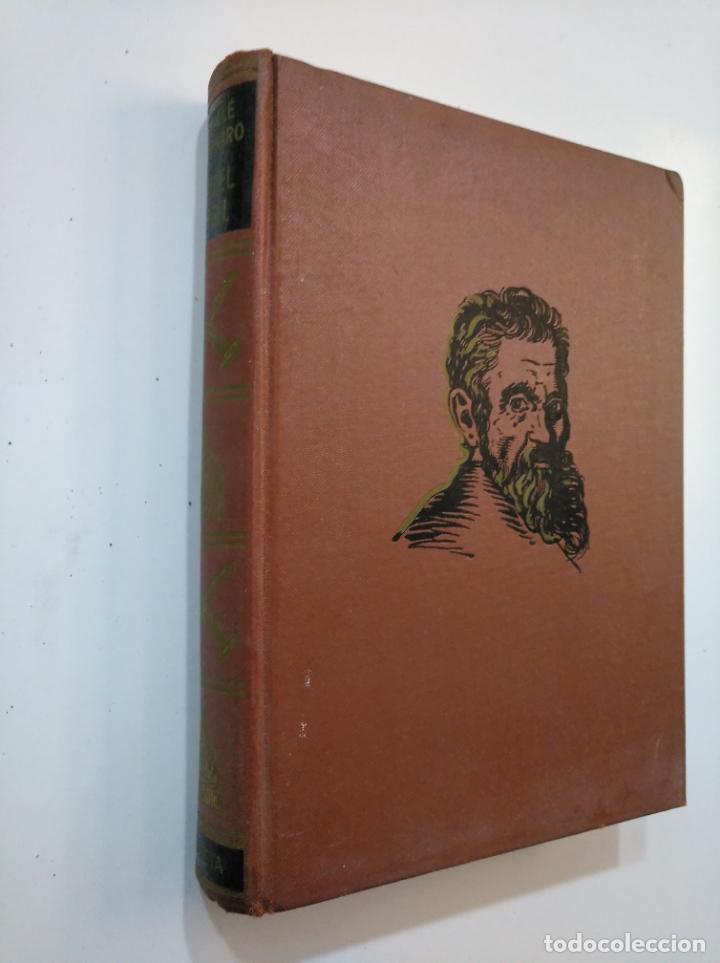 Libros de segunda mano: MIGUEL ÁNGEL. MICHELANGELO. - MICHELE SAPONARO. 1963. TDK374 - Foto 3 - 154668450