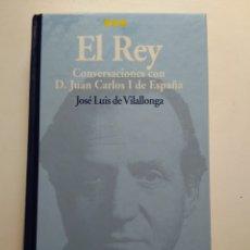 Libros de segunda mano: EL REY/JOSÉ LUIS DE VILALLONGA. Lote 155458480