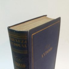 Libros de segunda mano: 1941 - FELIPE XIMÉNEZ DE SANDOVAL - JOSÉ ANTONIO, BIOGRAFÍA APASIONADA -1ª ED., DEDICADO A E. AUNÓS. Lote 155625718
