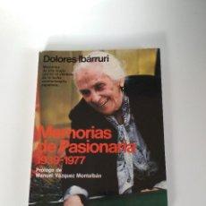 Libros de segunda mano: MEMORIAS DE LA PASIONARIA 1939 - 1977 DOLORES IBARRURI. Lote 155733994