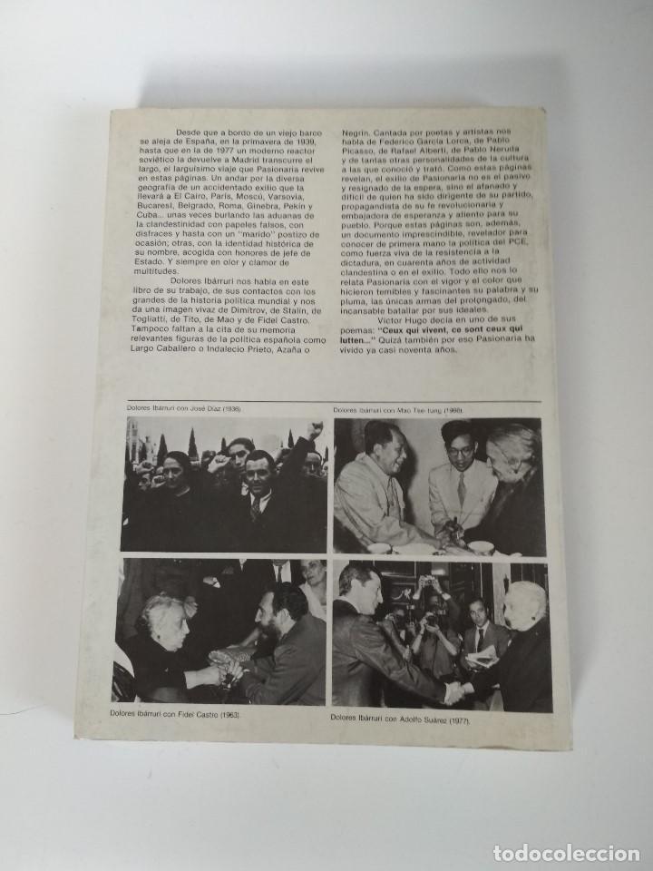 Libros de segunda mano: MEMORIAS DE LA PASIONARIA 1939 - 1977 DOLORES IBARRURI - Foto 2 - 155733994