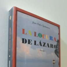 Libros de segunda mano: LA LOCURA DE LÁZARO - QUIÑONERO, JUAN PEDRO. Lote 155772873