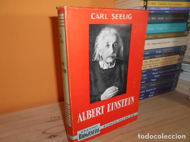 ALBERT EINSTEIN / CARL SEELIG (Libros de Segunda Mano - Biografías)