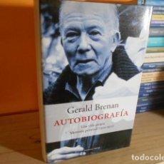 Libros de segunda mano: AUTOBIOGRAFIA,UNA VIDA PROPIA,MEMORIA PERSONAL 1920-1975 / GERALD BRENAN. Lote 155843058