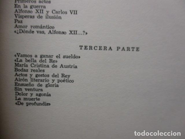Libros de segunda mano: ALFONSO XII el Rey romántico - CORTES CAVANILLAS - Ed JUVENTUD 1969 - ILUSTRADO TAPA DURA - Foto 18 - 155864558