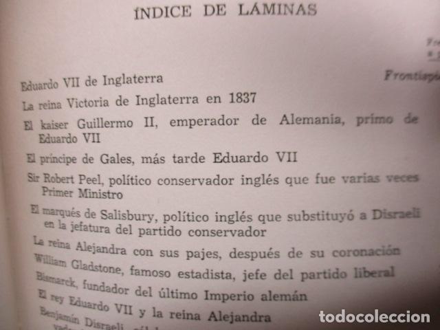 Libros de segunda mano: EDUARDO VII Y SU EPOCA - ANDRE MAUROIS - Foto 12 - 155866070