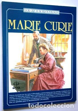 MARIE CURIE POR MARINA MONTEMAYER DE ED. EDAF EN MADRID 1984 (Libros de Segunda Mano - Biografías)