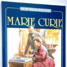 Libros de segunda mano: MARIE CURIE POR MARINA MONTEMAYER DE ED. EDAF EN MADRID 1984. Lote 155868598