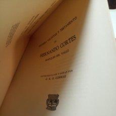 Libros de segunda mano: POSTRERA VOLUNTAD Y TESTAMENTO DE HERNANDO CORTES - MARQUES DEL VALLE - EDIT. PEDRO ROBREDO - 1940 -. Lote 155998522