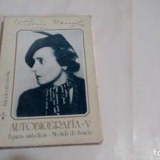 Libros de segunda mano: VICTORIA OCAMPO - AUTOBIOGRAFIA. Lote 156416878