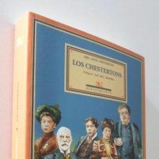 Libros de segunda mano: LOS CHESTERTONS - JONES, ADA ELIZABETH. Lote 157666577