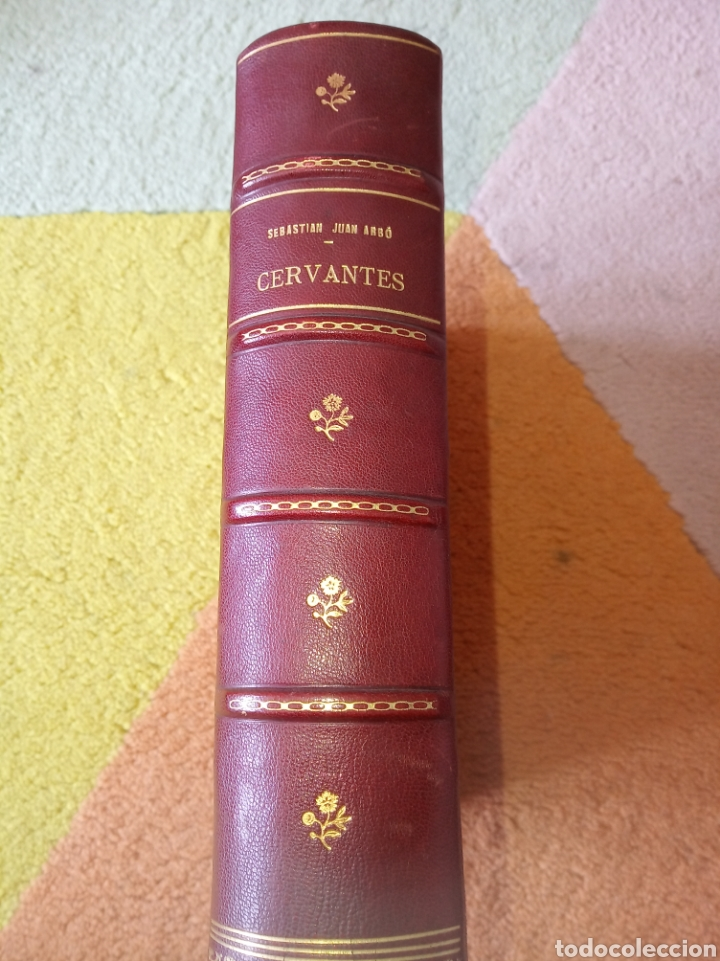 CERVANTES, SEBASTIÁN JUAN ARBÓ (Libros de Segunda Mano - Biografías)