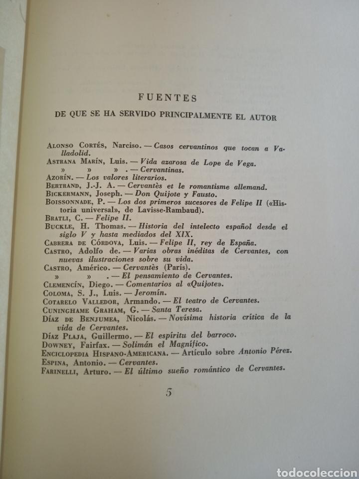 Libros de segunda mano: Cervantes, Sebastián Juan Arbó - Foto 4 - 157811802