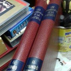 Libros de segunda mano: LOS PROTAGONISTAS DE LA HISTORIA. 2 TOMOS. VER FOTOS ESTADO. Lote 157855546