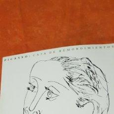 Libros de segunda mano: PICASSO.CAJA DE REMORDIMIENTOS. Lote 157938632