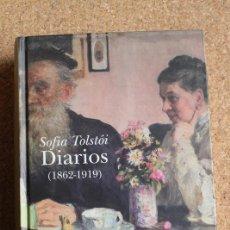 Libros de segunda mano: DIARIOS (1862-1919). TOLSTÓI (SOFIA) BARCELONA, EDITORIAL ALBA, 2010. Lote 158541282