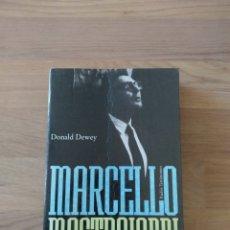 Libros de segunda mano: MARCELLO MASTROIANNI. DONALD DEWEY.. Lote 158894685