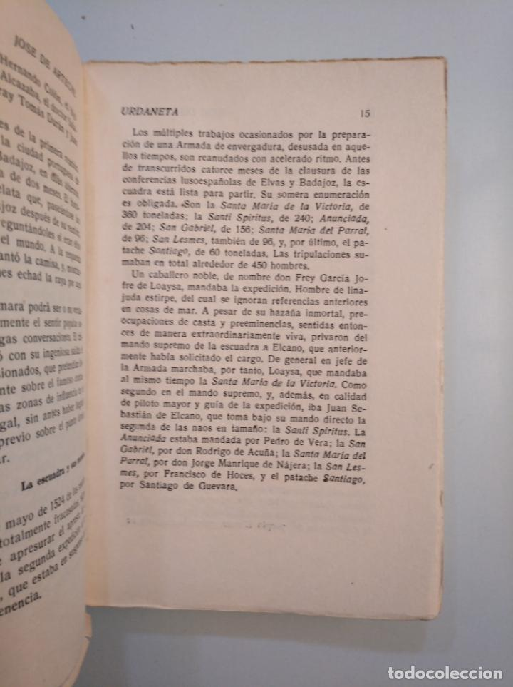 Libros de segunda mano: JOSÉ DE ARTECHE. URDANETA. EL DOMINADOR DE LOS ESPACIOS DEL OCÉANO PACÍFICO. MADRID, 1943. TDK379 - Foto 2 - 159083034