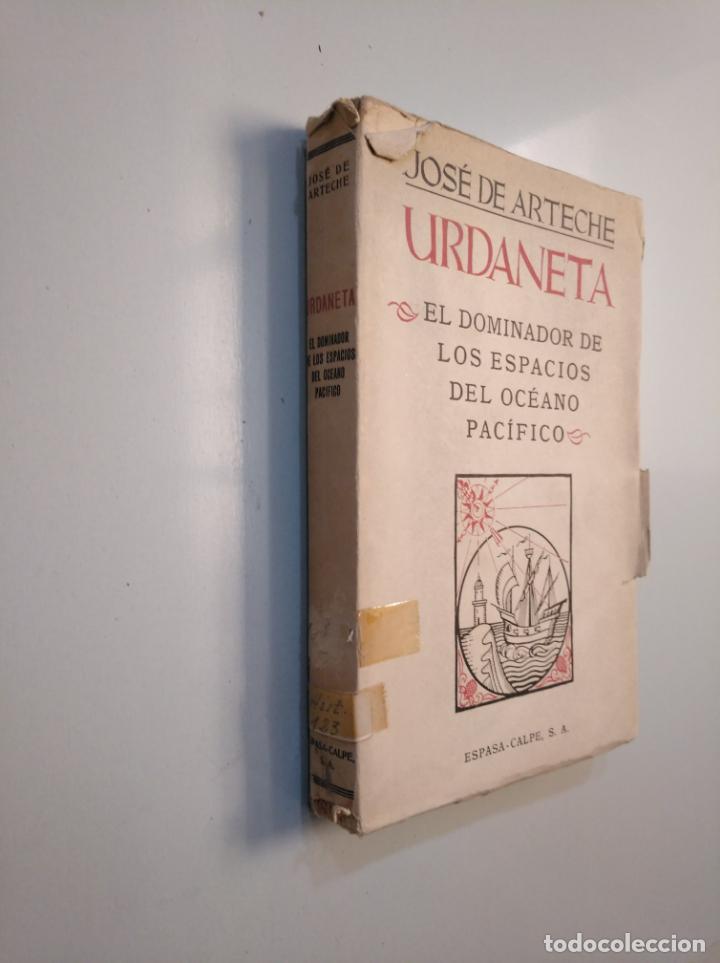 Libros de segunda mano: JOSÉ DE ARTECHE. URDANETA. EL DOMINADOR DE LOS ESPACIOS DEL OCÉANO PACÍFICO. MADRID, 1943. TDK379 - Foto 3 - 159083034