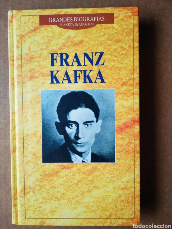 FRANZ KAFKA: GRANDES BIOGRAFÍAS (PLANETA DE AGOSTINI, 1996). 222 PÁGINAS CON CUBIERTAS EN CARTONÉ. (Libros de Segunda Mano - Biografías)