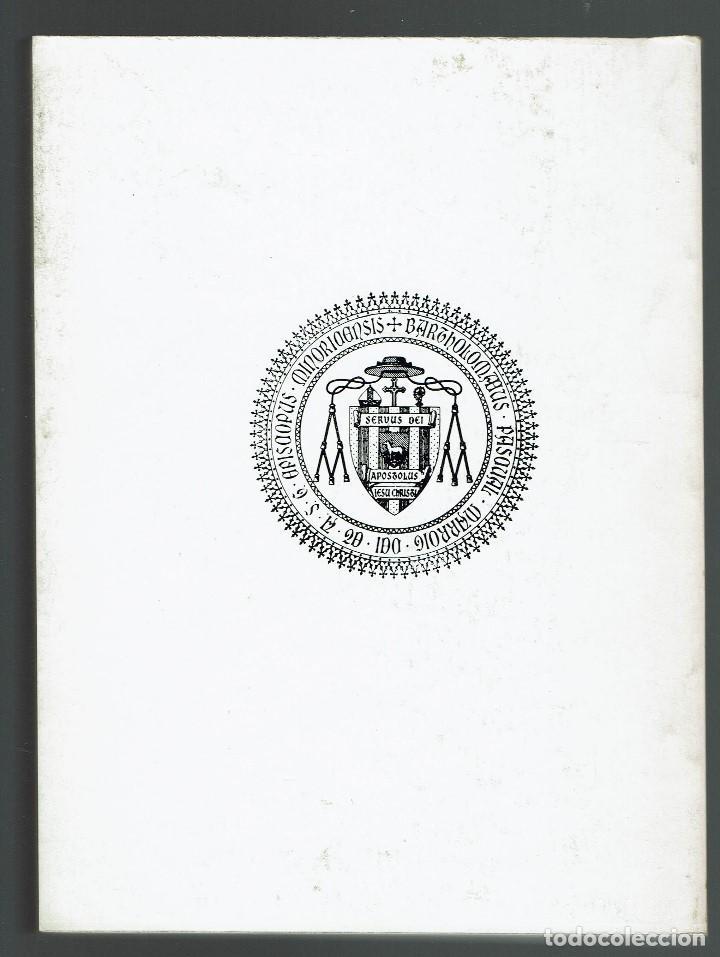 Libros de segunda mano: EL OBISPO PASCUAL. UN TIEMPO/UNA IGLESIA, POR ANTONIO PÉREZ RAMOS. AÑO 1980. (MENORCA.1.3) - Foto 2 - 160670730