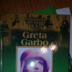 Libros de segunda mano: PERSONAJES DEL SIGLO XX - GRETA GARBO. Lote 160814574