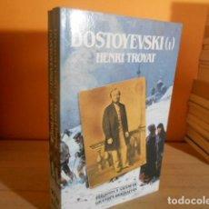 Libros de segunda mano: DOSTOYEVSKI / HENRI TROYAT / 2 VOLUMENES. Lote 161079022