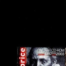 Libros de segunda mano: CD-ROM ARTPRICE FINE ART (3 CD ROM PC/MAC) 16 AÑOS DE RESULTADOS DE SUBASTAS DE ARTE, SIN USO. Lote 161901546