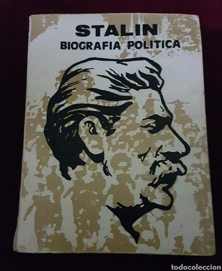 LIBRO STALIN EDIC VANGUARDIA OBRERA MADRID 1979 (Libros de Segunda Mano - Biografías)