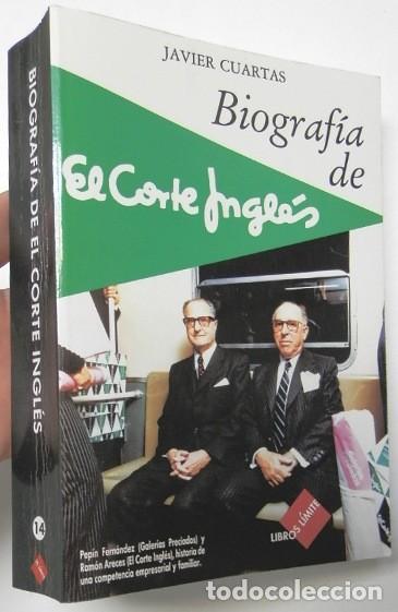 biografía de el corte inglés - javier cuartas - Comprar Libros de ...