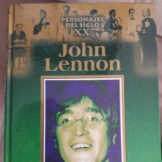 Libros de segunda mano: JOHN LENNON. PERSONAJES DEL SIGLO XX.. Lote 164157514